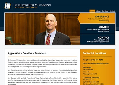 Christopher M. Capozzi Attorney at Law. PC